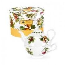 Portmeirion Pomona Tea For One-ατομικό σετ τσαγιού.