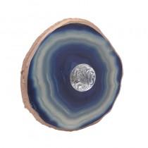 Inart 3-70-294-0077 Κρεμάστρα Τοίχου μπλε