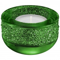 Swarovski 5108880 Shimmer Tea Light Holder, Green κηροπηγιο