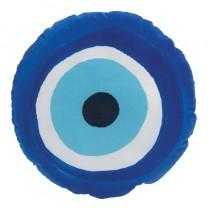Mαξιλαροθήκη μάτι σρογγυλό. velvet.. 40x40cm. oikds51