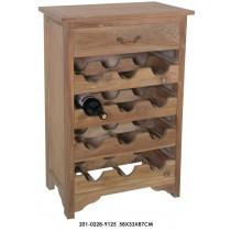 Κάβα ξύλινη κιμολία 58x33x87