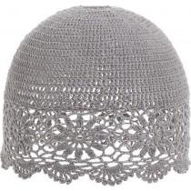 INART Καπέλο Φωτιστικού Πλεκτό Γκρι 25,5x22. 3-70-026-0056
