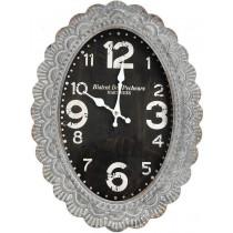Espiel Ρολόι Τοίχου Μεταλλικό 36x47cm. LOG 510