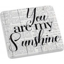 Espiel Σουβέρ Κεραμικό Sunshine 6τμχ.  9.5Χ9.5ΕΚ. NIK316