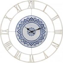 INART ΡΟΛΟΙ ΤΟΙΧΟΥ ΜΕΤΑΛΛΙΚΟ ΛΕΥΚΟ/ΜΠΛΕ. 60X5X60cm.  3-20-400-0001