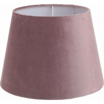 Inart Καπέλο Φωτιστικού  βελουδινο ροζ. 30x30x22. 3-10-741-0038