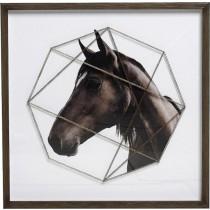 ESPIEL Κάδρο Άλογο  50x50εκ. RAM201