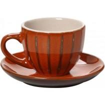 Φλιτζάνι Espresso 90ml πορτοκαλί Espiel KUP105K6