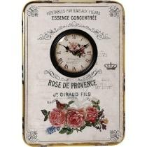 Espiel Ρολόι Τοίχου Μεταλλικό 39.5x54.5cm. log418
