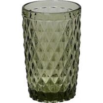 Espiel Ποτήρι σωλήωας Πράσινο Γυάλινο 340ml. TIR107K6