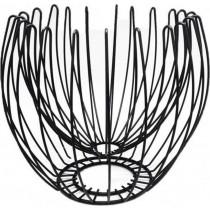 ESPIEL ΦΡΟΥΤΙΕΡΑ ΜΕΤΑΛΛΙΚΗ ΜΑΥΡΗ. 28,5X25cm.  MTT310
