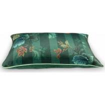 PIP STUDIO Διακοσμητικό Μαξιλάρι Pip Leafy Stitch Green 30×50cm. 51.040.330