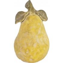 Espiel Αχλάδι Κεραμικό Αντικέ Κίτρινο. 15x15x24cm. JOE203