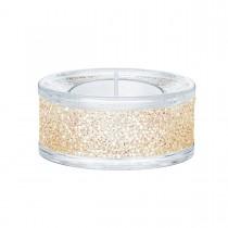 Swarovski κρυστάλλινο κηροπήγιο 5428724 SHIMMER TEA LIGHT HOLDERS, GOLD TONE