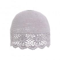 INART  Καπέλο Φωτιστικού  Πλεκτό ροζ.  25.5×25.5×22.  3-70-026-0055