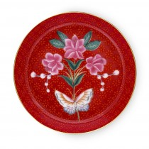Pip Studio Tea Tip Blushing Birds Red. 51.013.018