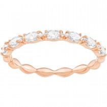 Swarovski επιχρυσωμένο δαχτυλίδι 5366583 VITTORE MARQUISE RING No52