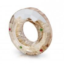 Swarovski κρυστάλλινο χριστουγεννιάτικο διακοσμητικο 5596371 Holiday Cheers Gingerbread Donut Magnet