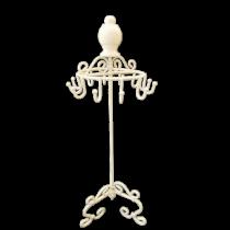 Μπιζουτιέρα Κοσμημάτων - μέταλλο - Λευκό.40x16cm.  oikos191