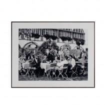 Inart Πίνακας Ασπρόμαυρη Φωτογραφία σε Κορνίζα. 40×50cm. 3-90-104-0001
