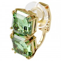 Swarovski επιχρυσωμένο σκουλαρίκι 5602389 Millenia ear cuff Single, Green, Gold-tone