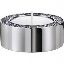 Swarovski επιροδιωμένο κηροπήγιο 5474386 MINERA TEA LIGHT HOLDER, SMALL, SILVER TONE