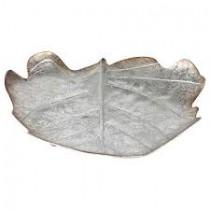 inart 3-70-626-0013  Διακοσμητικο τοιχου μεταλλικο ασημι 34Χ5Χ29
