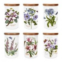 Portmeirion Botanic Garden 8 Inch Airtight Jar Single-αεροστεγές βάζο 20εκ.