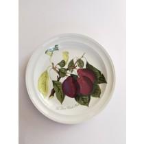 Portmeirion ρηχά πιάτα κεραμικο με φρούτα. 1980.  Δ21,5x21,5. (τιμή μονάδας) iokds37