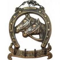 Κλειδοθήκη Κρεμάστρα Τοίχου Άλογα. 20x16cm. oikos31