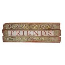 Κάδρο ξύλινο friends
