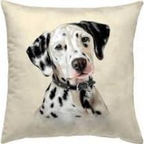 Μαξιλάρι  ταπισερί-στοφα - σκύλο. 45x45cm. oikos511