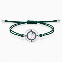 Swarovski ατσάλινο βραχιόλι 5535909 SAND BRACELET, GREEN, STAINLESS STEEL
