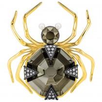 Swarovski επιχρυσωμένη καρφίτσα 5409681 MAGNETIC BROOCH, MULTI-COLOURED