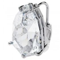 Swarovski επιροδιωμένο σκουλαρίκι με κλιπ 5600758 Mesmera clip earring Trilliant cut crystal