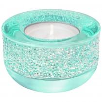 Swarovski 5135773 Shimmer Tea Light Holder, Light Blue κηροπηγιο