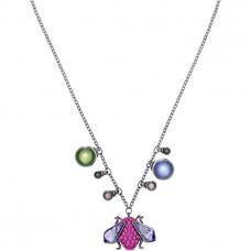 Swarovski επιρουθηνιωμένο μενταγιόν 5446397 Magnetized Necklace, Multi-colored, Black ruthenium plating